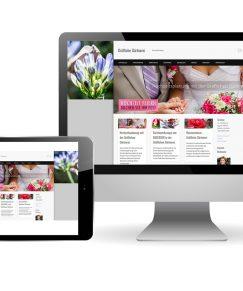 Für die Gräfliche Gärtnerei – Florale Werkstatt, Carmen Bickmann wurde ein Webdesign entwickelt, das speziell auf die saisonalen Besonderheiten und den umfassenden Service des Unternehmens hingewiesen hat. Nahe des Gräflichen Parks Bad Driburg gab es in der großen Gärtnerei eine Menge zu bestaunen, kaufen und entdecken. Der Webaufritt wurde von uns 5 Jahre betreut.
